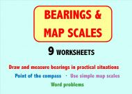 Bearings and Map Scales